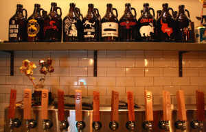 Beer Taps Luck at Trinity Groves