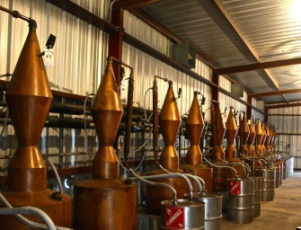 Dripping Springs: Copper Pots of Liquid Silver