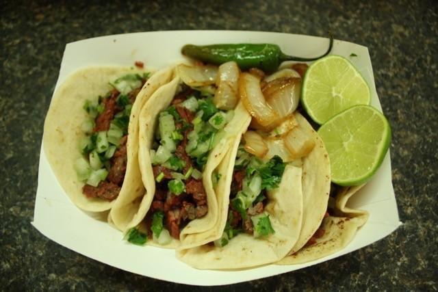 fajita and carnita tacos