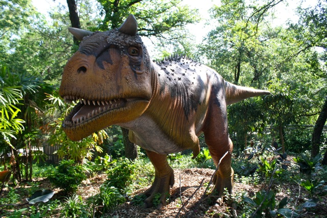 Dinosaur at Dallas Zoo