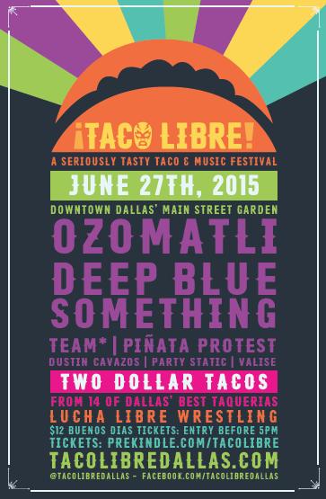 Taco Libre Promo poster