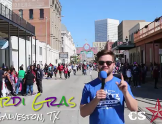VIDEO: Mardi Gras, Galveston 2016