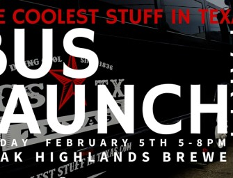 Join Us on Friday for the Official Bus Launch Party!