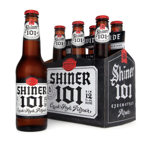 Shiner 101 six pack