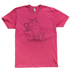 Thirsty Armadillo Texas Tee