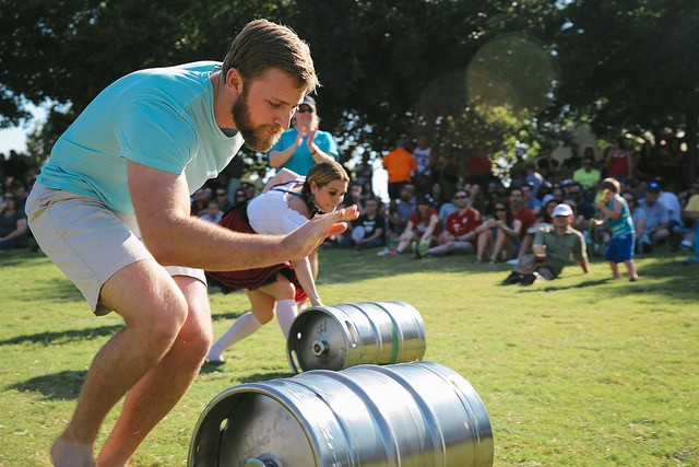 Addison Oktoberfest Keg Races